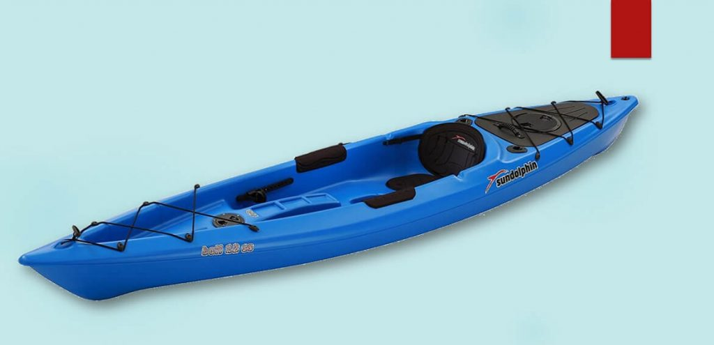 Sun Dolphin Bali SS 12-Foot Sit-on-top Kayak- Sit on top kayak in whitewater
